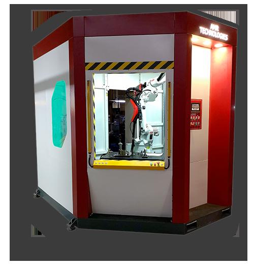 AMR Teknoloji Robotlu Kaynak Hücresi Kabini